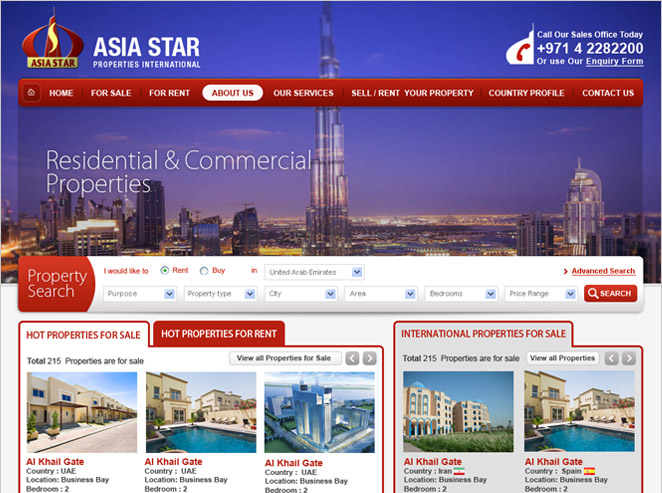 Asia Star Properties International