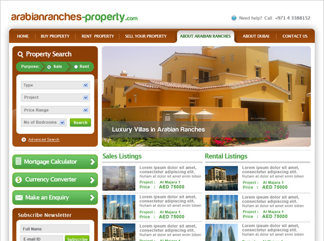 Arabian Ranches Properties