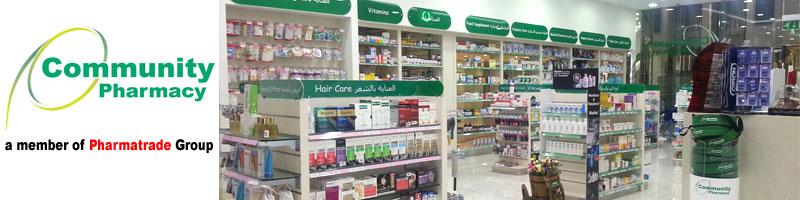 Community Pharmacy Dubai website design & development project